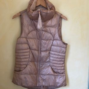 Lululemon Rose Gold Vest